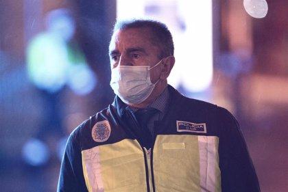 El delegado del Gobierno traslada su pésame por las tres víctimas de la explosión en la calle Toledo
