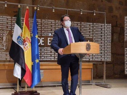"""El hospital """"provisional"""" en Badajoz estará preparado en dos semanas pero el SES espera no tener que usarlo"""