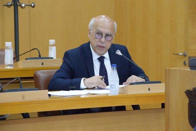 El consejero de Sanidad de Ceuta, Javier Guerrero, en una imagen de archivo
