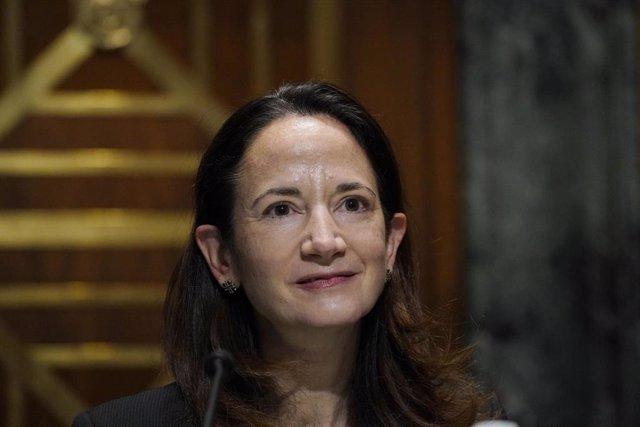 La directora de Inteligencia Nacional de Estados Unidos, Avril Haines.