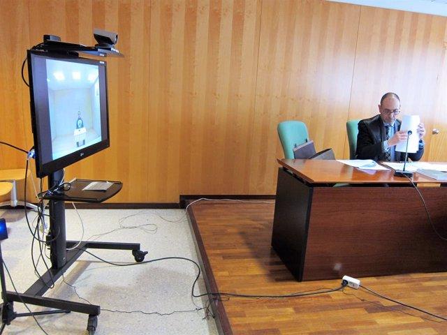 Judici al jutjat penal 6 de Girona a Driss Oukabir.