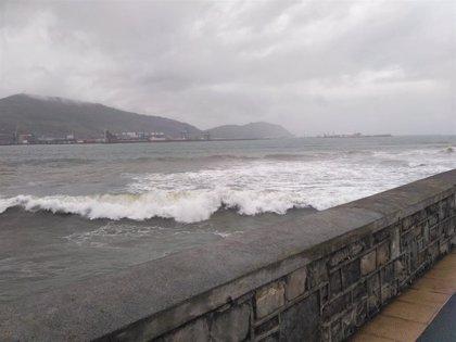 El viento sur alcanza rachas máximas de 110,4 km/h en Orduña y 101,6 en Karrantza