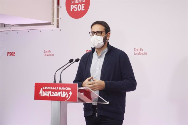 El secretario de Organziación del PSOE, Sergio Gutiérrez.