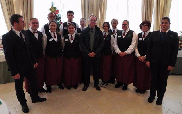 Termina el curso formativo en la Escuela de Hostelería de Islantilla, en un año marcado por el Covid-19.