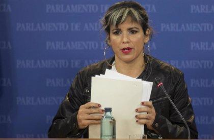 """Teresa Rodríguez no """"renuncia"""" a Adelante Andalucía y acusa a Podemos e IU de querer """"neutralizarlo y disolverlo"""""""