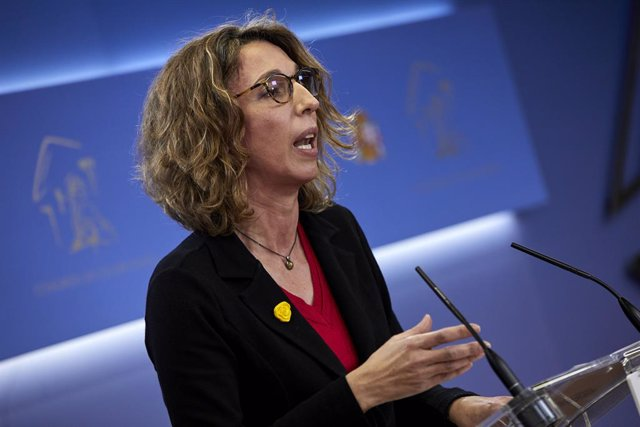 La candidata del PDeCAT a la presidència de la Generalitat, Àngels Chacón