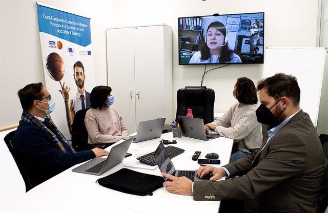 La UCAM ha estado representada por su Facultad de Deporte en la primera reunión online de trabajo del proyecto