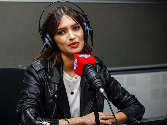 Sara Carbonero, el día de su presentación como nueva colaboradora de Radio Marca