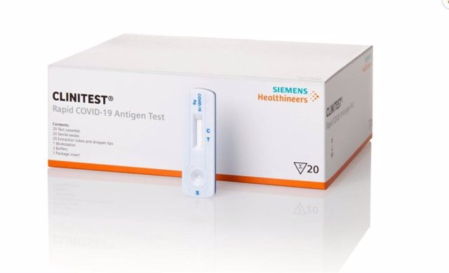 Empresas.- El Servicio Madrileño de Salud adquiere dos millones de test de antígenos de Siemens Healthineers