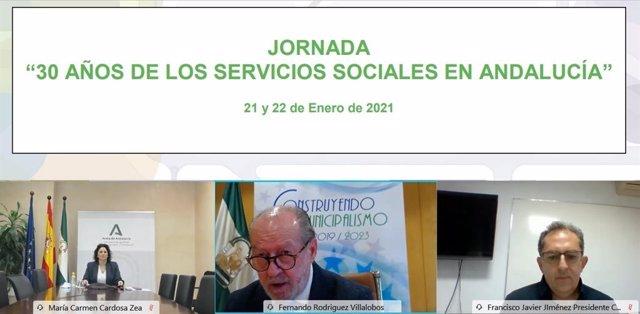 FAMP organiza una jornada de formación continua en la que se aborda los 30 años de Servicios Sociales en Andalucía