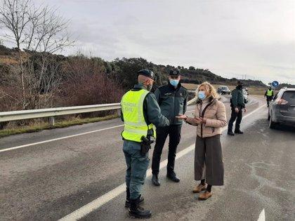 Se refuerzan los controles perimetrales en Huesca por el puente festivo de San Vicente