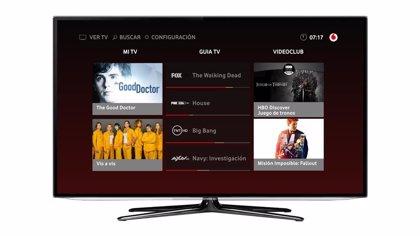 Vodafone TV incorpora en su oferta de televisión ATRESplayer Premium