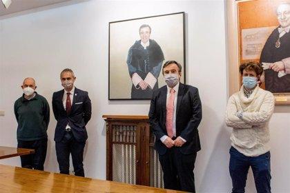 La imagen de José Ramón Alonso se suma al Salón de Retratos de la Universidad de Salamanca