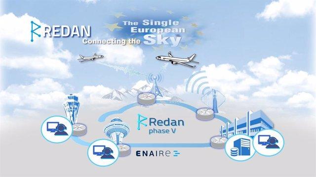 Se trata de la quinta generación de esta Red, denominada REDAN V, y utiliza tecnología de vanguardia que permite transmitir cantidades de información muy superiores a un coste más reducido