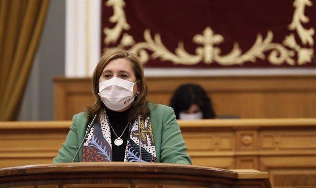 La consejera de Educación, Rosa Ana Rodríguez