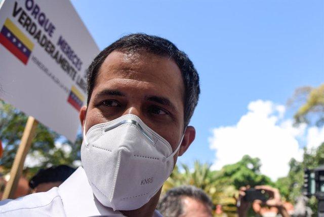 El líder opositor venezolano, Juan Guaidó