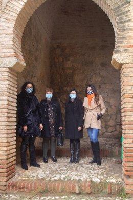 La delegada de Turismo en Málaga durante una visita a Archidona