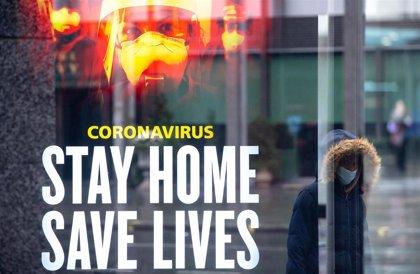 Reino Unido mantiene sus muertos por COVID-19 por encima de los mil y confirma cerca de 38.000 nuevos casos