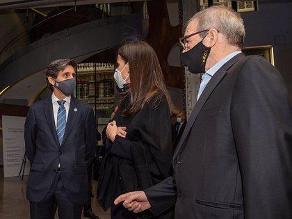 César Alierta reaparece junto con la Reina Letizia después de haber estado en coma inducido