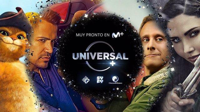 Universal+ ya está disponible en Movistar+