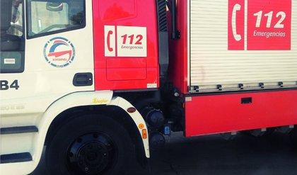Arde una nave de carpintería en un polígono industrial de Nerva (Huelva) sin causar heridos