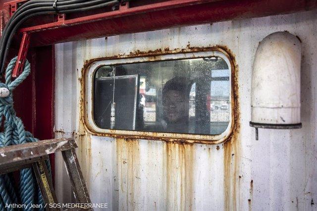 El barco de salvamento 'Ocean Viking'