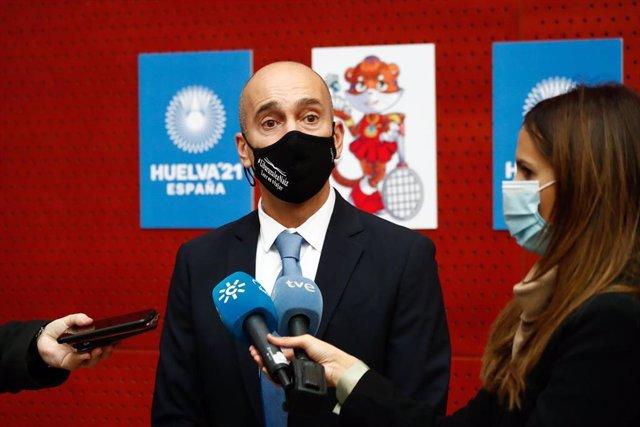 Andoni Azurmendi, presidente de la Federación Española de Bádminton