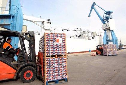 Las exportaciones de la Comunitat Valenciana alcanzan los 26.070 millones, un 9,2% menos que el año anterior