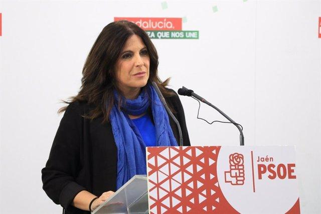 La coordinadora del Grupo Parlamentario del PSOE de Jaén, Ángeles Férriz/Archivo