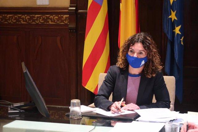 La consellera de Hacienda, Rosario Sánchez.