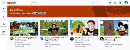 YouTube estrena páginas dedicadas a hashtags para descubrir nuevo contenido