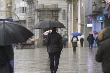El temporal deja vientos de más de 110 kilómetros hora en el litoral y el interior de Galicia