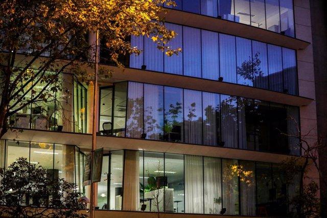 Un edificio de oficinas en Madrid