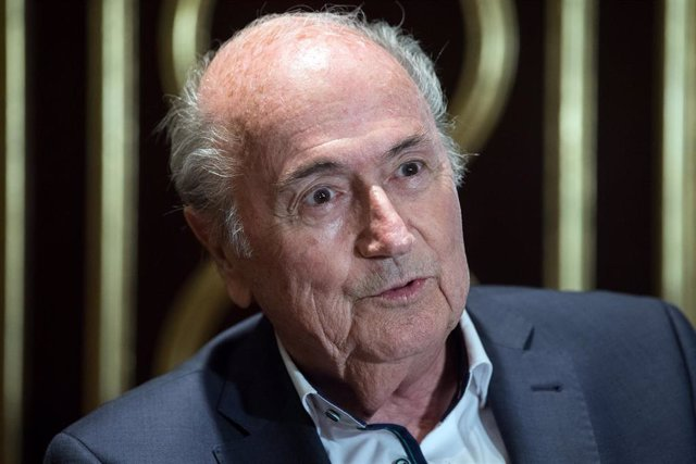 El expresidente de la FIFA Joseph Blatter