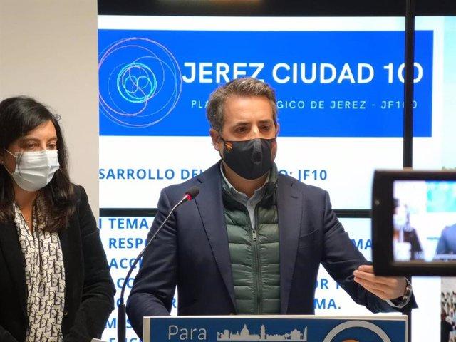 Antonio Saldaña, portavoz del PP en Jerez