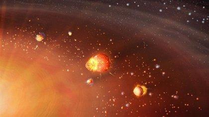 Dos etapas para la formación del Sistema Solar