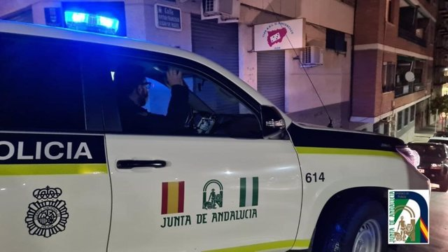 El desalojo lo llevó a cabo la la Unidad de Policía Adscrita a la Comunidad Autónoma de Andalucía
