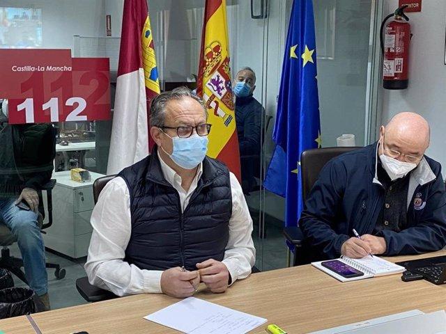 El consejero de Hacienda y Administraciones Públicas, Juan Alfonso Ruiz Molina.