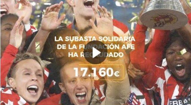 Subasta Solidaria de Fundación AFE.