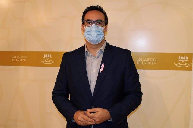 El diputado de Ciudadanos Alberto Reyes
