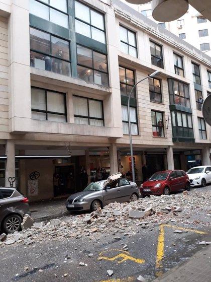 'Hortense' deja hasta el momento 238 incidencias y provoca daños en un pináculo de Santa Eulàlia