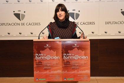 El Plan de Formación de la Diputación de Cáceres ofrece este año 5.821 plazas para 143 cursos