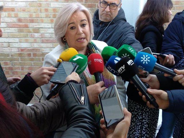 La delegada de Salud en Huelva, Manuela Caro.