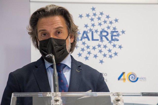 El presidente del Parlamento de Canarias y la Calre, Gustavo Matos