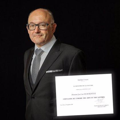 Ministerio de Cultura francés nombra Caballero de la Orden de Artes y Letras al director del Festival de San Sebastián