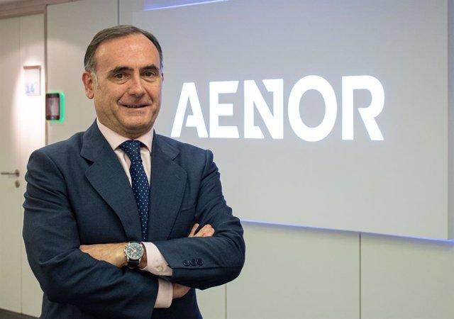 Javier Mejía, nuevo director de Marketing Estratégico y de Producto de Aenor