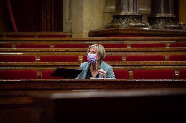 La consellera de Salut de la Generalitat, Alba Vergés (Arxiu)