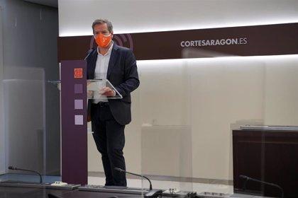 Pérez Calvo (Cs) dice que Aragón no puede ser penalizada por vacunar con sensatez y no entrar en competiciones