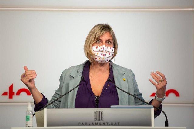 La consellera de Salud, Alba Vergés (Archivo)