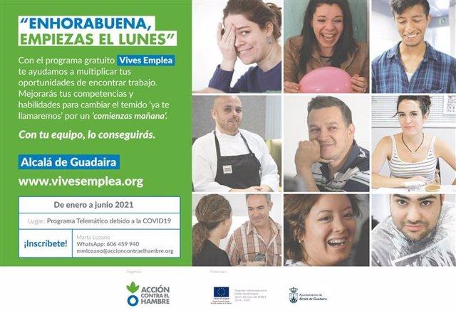 [Sevilla] Np Abierta Inscripción Octava Edición Del Programa De Mejora De La Empleabilidad Vives Emplea